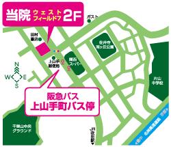 千里山の関西スーパー佐井寺店ななめ向かいです。